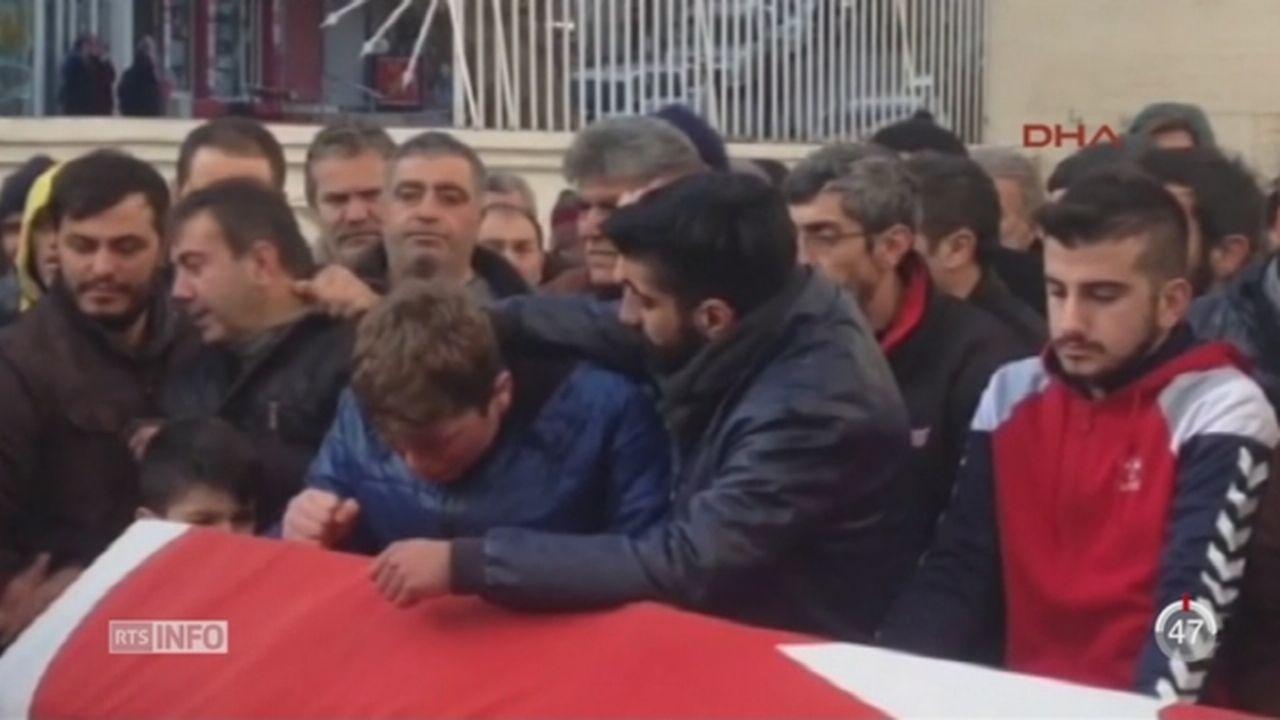 Turquie: l'Etat islamique revendique l'attentat [RTS]