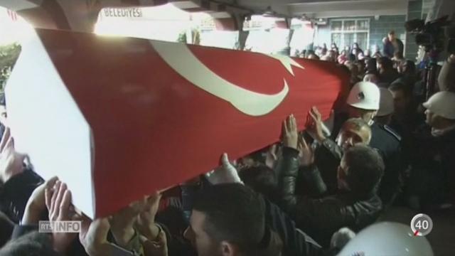 Attentat d'Istanbul: arrestation de 8 suspects [RTS]