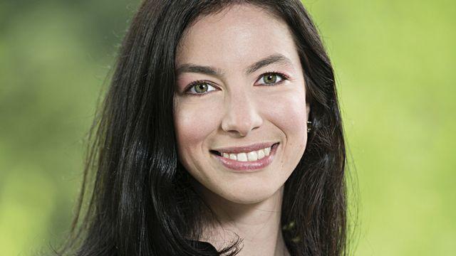 Céline Vara, présidente des Verts neuchâtelois. [Keystone]