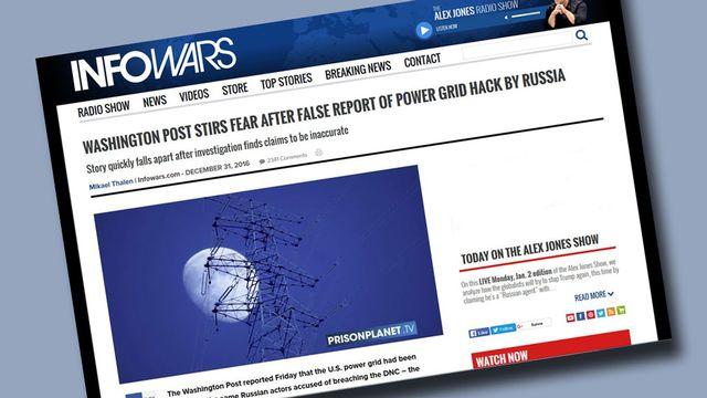 D'autres médias américains on rectifié les affirmations du Washington Post. [infowars.com]
