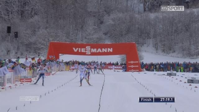 5x5km femmes, Oberstdorf (GER): la Suédoise Nilsson remporte la course ! 11e place pour la Suissesse Von Siebenthal [RTS]
