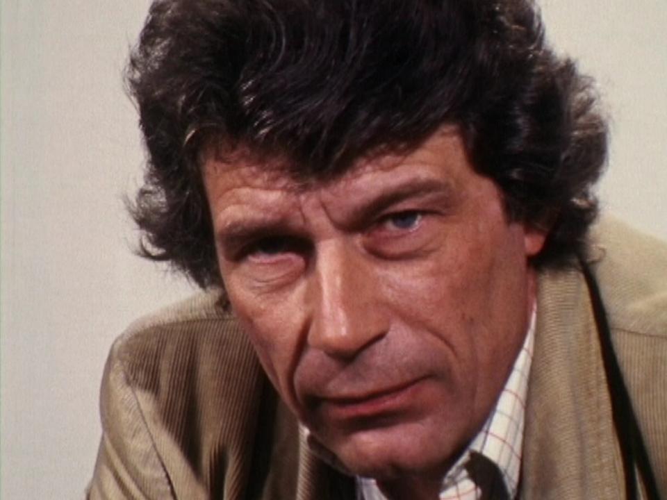 L'écrivain et critique d'art John Berger en 1976. [RTS]