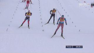 10x10km hommes, Oberstdorf (GER): le Russe Ustiugov remporte la course devant Sundby (NOR) et Cologna (SUI) [RTS]