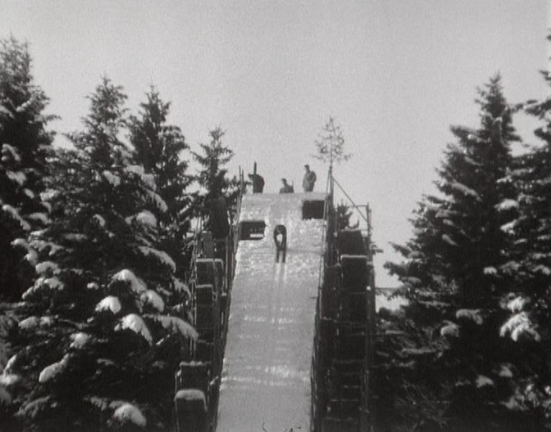 A l'heure du saut à ski