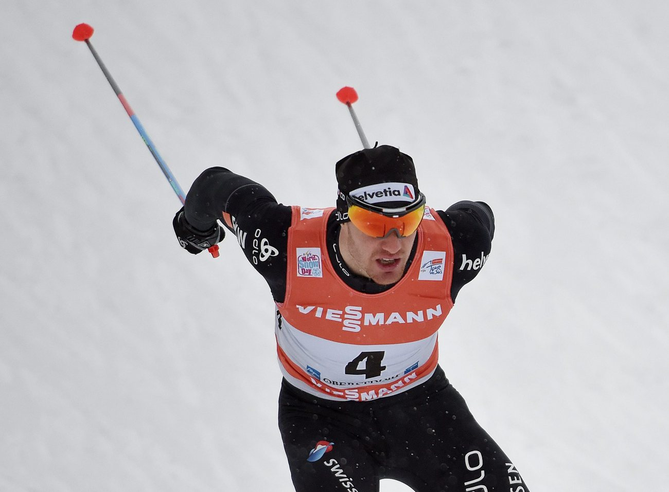 Tour de ski: Alex Harvey termine au 7e rang