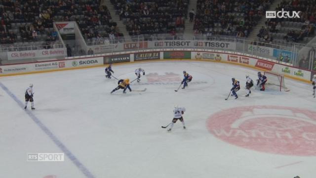 Hockey - LNA (37e j.): Bienne – Fribourg (4-2) [RTS]
