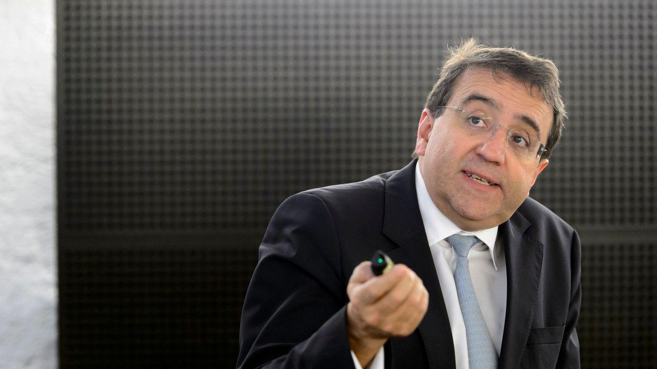 Pascal Broulis, conseiller d'Etat VD, chef du département des finances et des relations extérieures. [Laurent Gilliéron - Keystone]