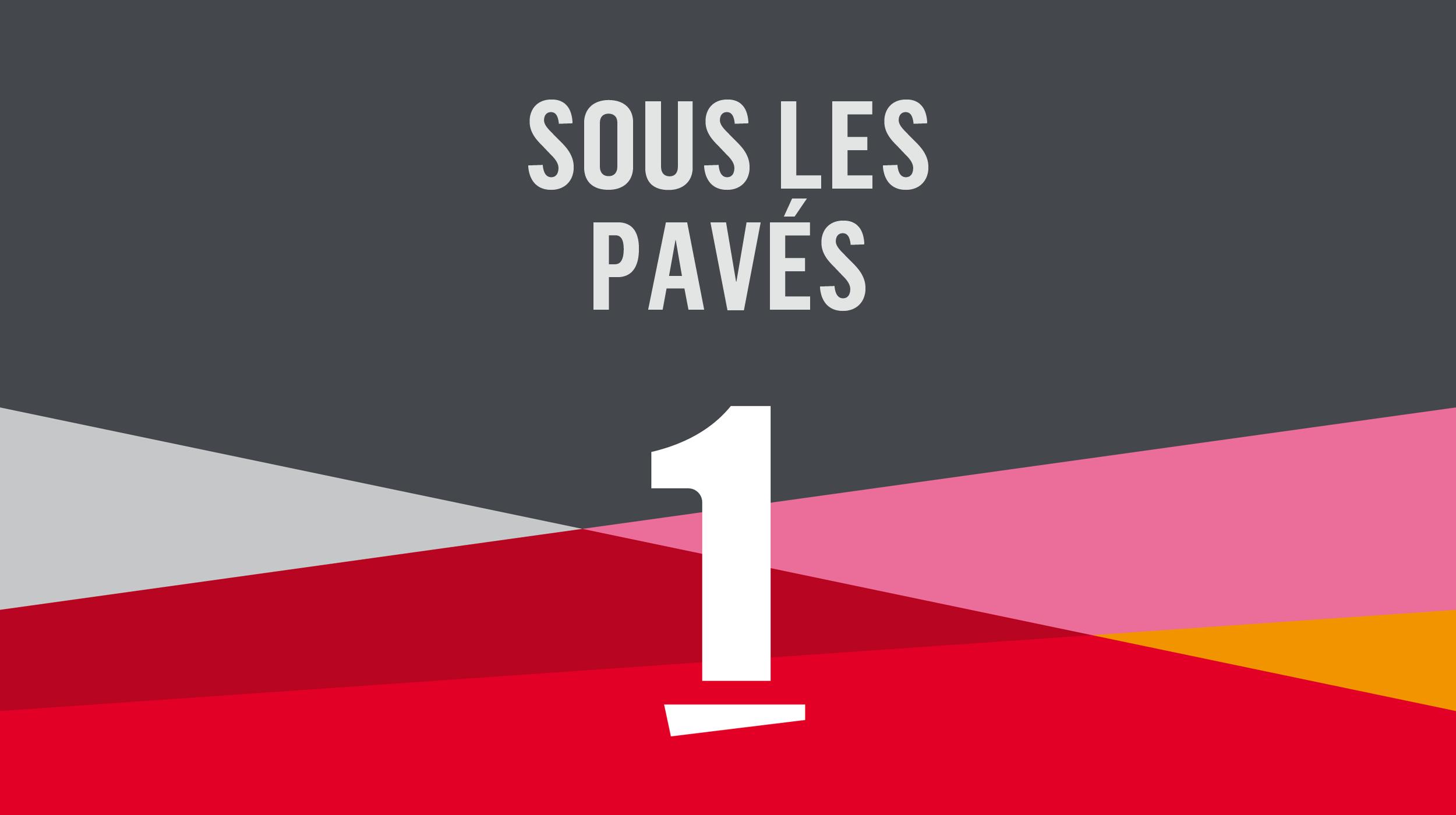 Logo Sous les pavés [RTS]