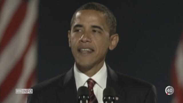 Barack Obama: bilan d'un président [RTS]
