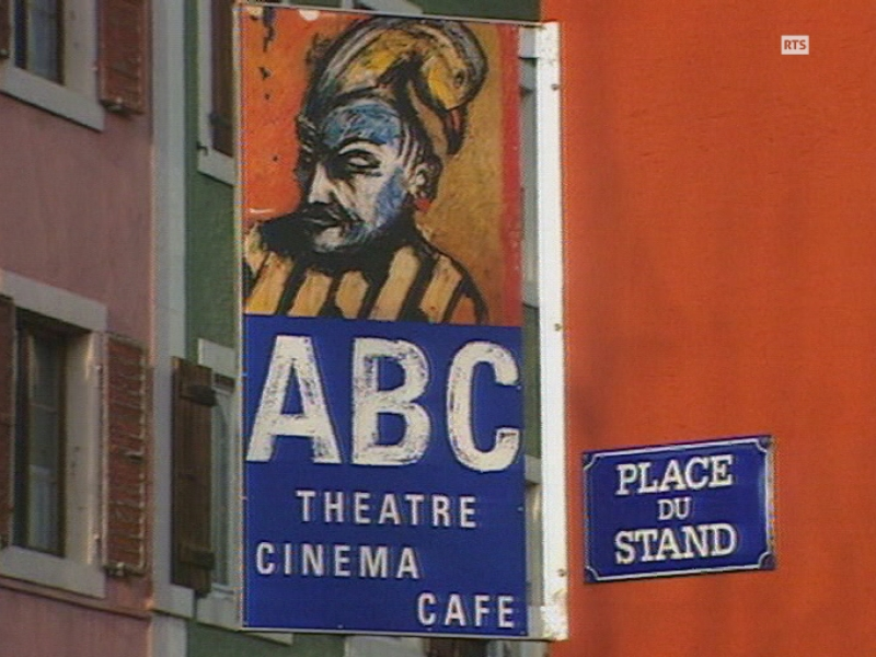 l'ABC, centre culturel de la Chaux-de-Fonds.