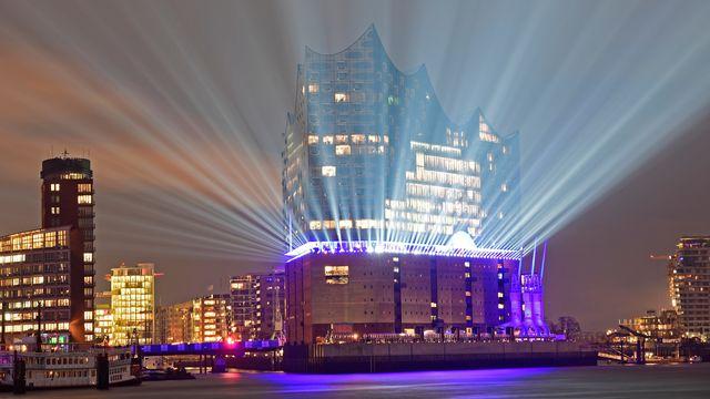 La Philharmonie de Hambourg a été inaugurée le 11 janvier 2017. [Fabian Bimmer - Reuters]