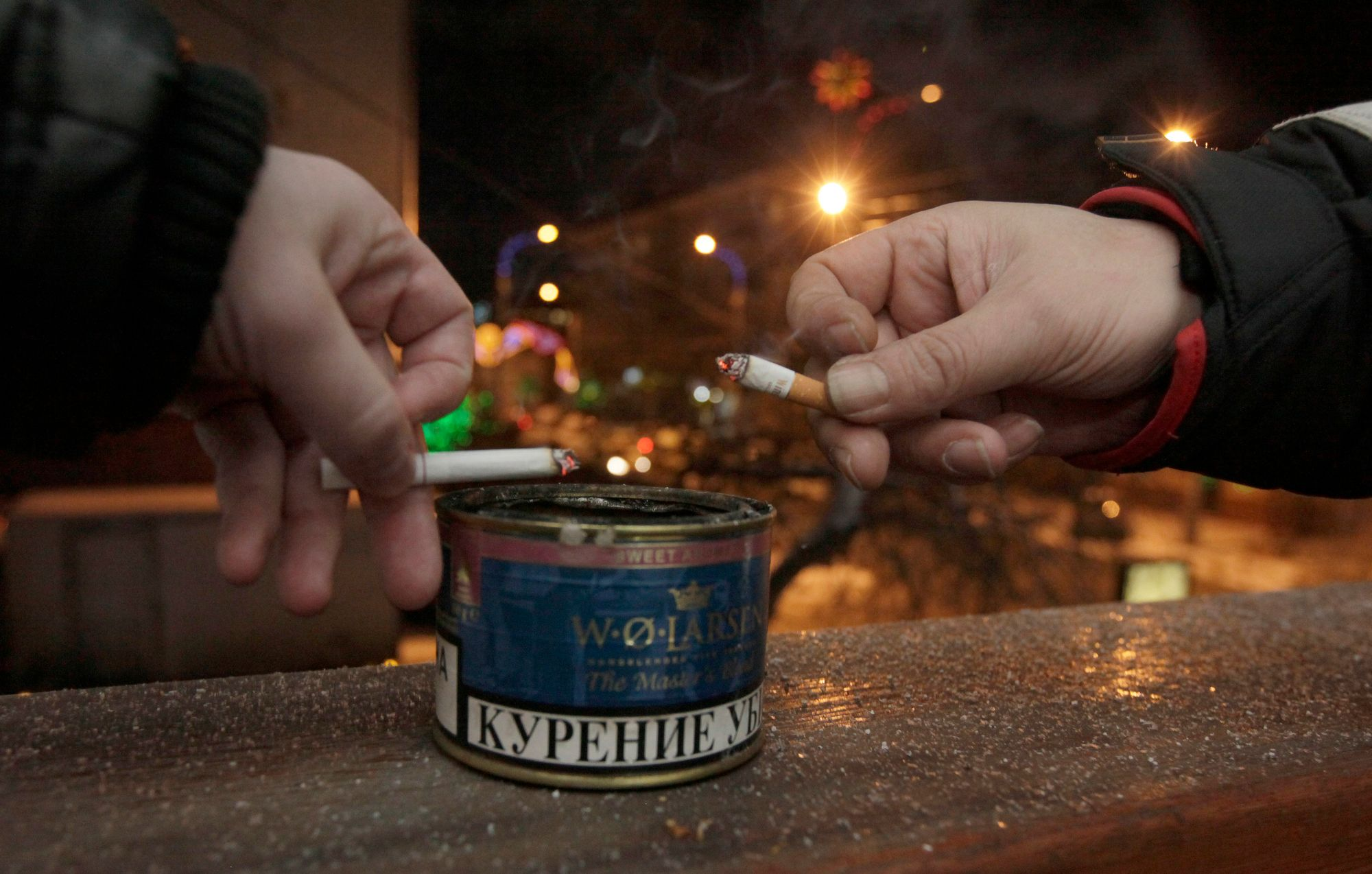 La Russie met au point un plan anti-tabac ambitieux.
