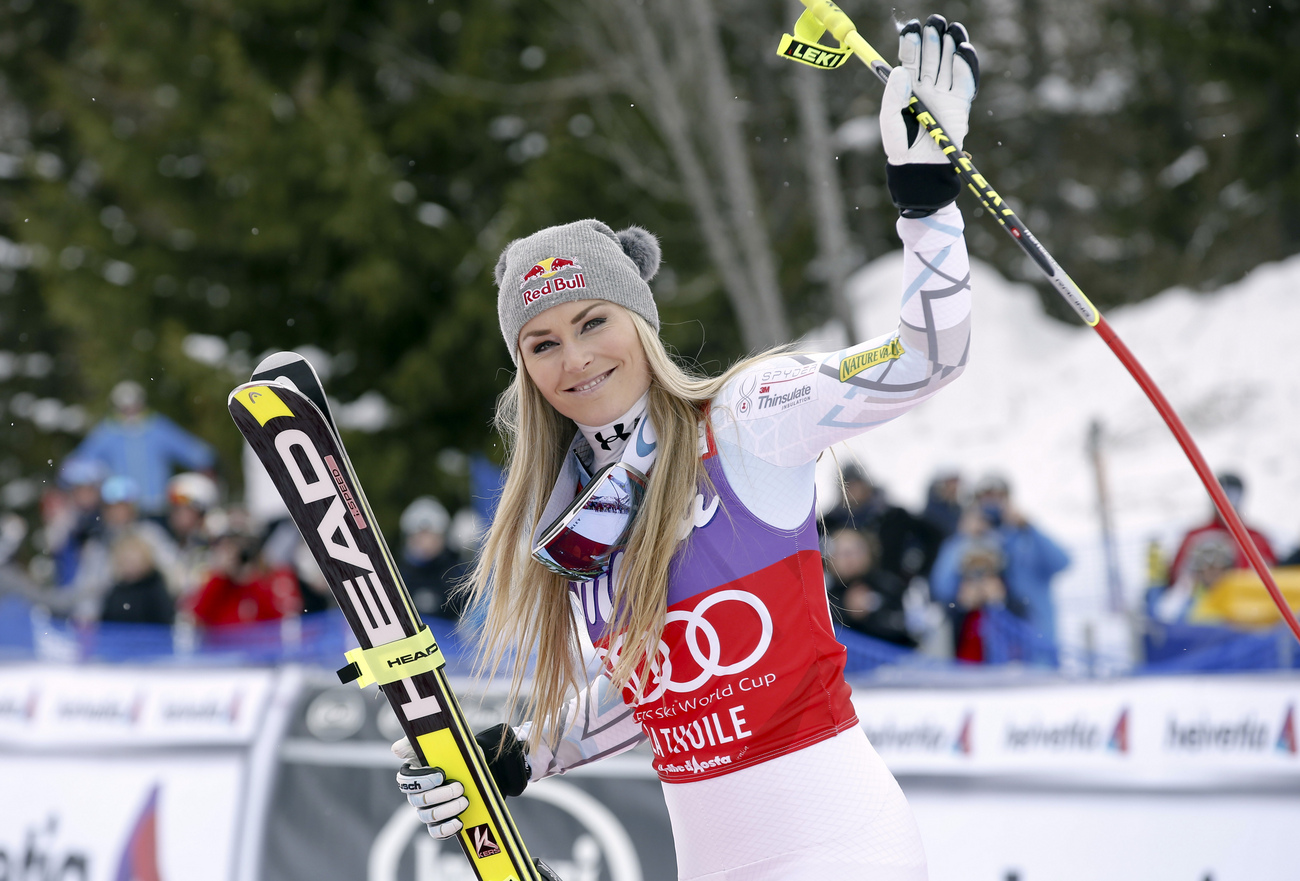 Lindsey Vonn de retour à la compétition à Altenmarkt-Zauchensee