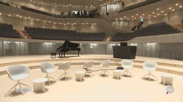 Inauguration de la nouvelle salle de concert de Hambourg [RTS]