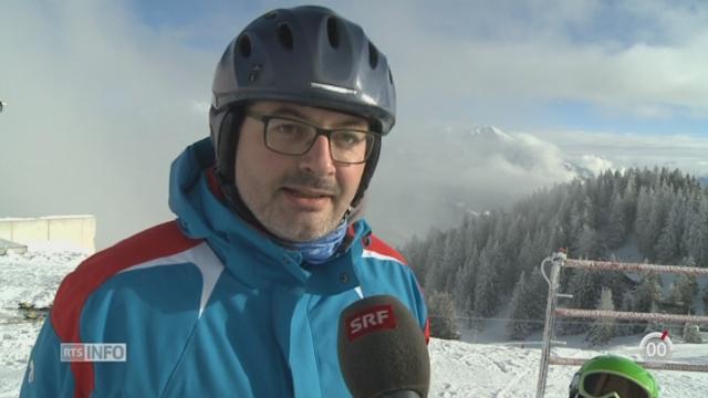 Certaines stations de ski font varier les tarifs en fonction de la météo pour attirer les clients [RTS]