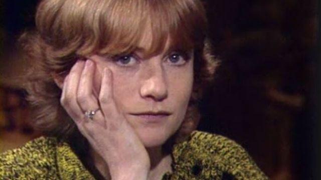 Isabelle Huppert sur le plateau de Spécial Cinéma en 1983. [RTS]