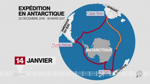 Le Swiss Polar Institute lance une expédition inédite en Antarctique [RTS]