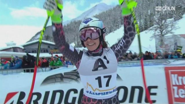 Descente dames, Altenmarkt-Zauchensee (AUT): Tina Weirather (LIE) s'impose en Allemagne juste devant la Suissesse [RTS]