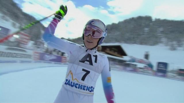 Descente dames, Altenmarkt-Zauchensee (AUT): Lindsey Vonn (USA) termine 10e pour son retour à la compétition [RTS]