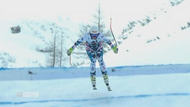 Ski alpin - Altenmarkt: Christine Scheyer crée la surprise en finissant première [RTS]