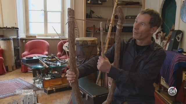 NE: un passionné a rassemblé quelque 900 instruments de musique du monde entier [RTS]