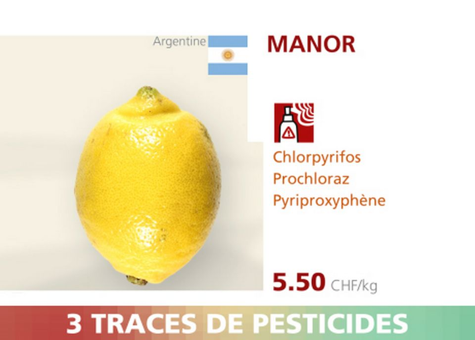 Citron - Manor - 3 pesticides. [RTS]