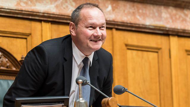 Jürg Stahl, président de Swiss Olympic et président du Conseil national. [Anthony Anex - Keystone]