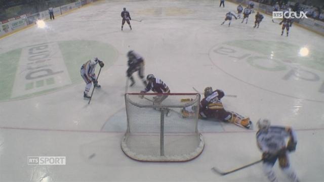 Hockey- LNA (42e j.): Genève perd de justesse face à Lugano (2-3 tb) [RTS]