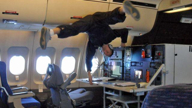 Les clients des vols en apesanteur auront de la peine à se faire rembourser (image d'illustration). [Silvio Dolzan - RTS]