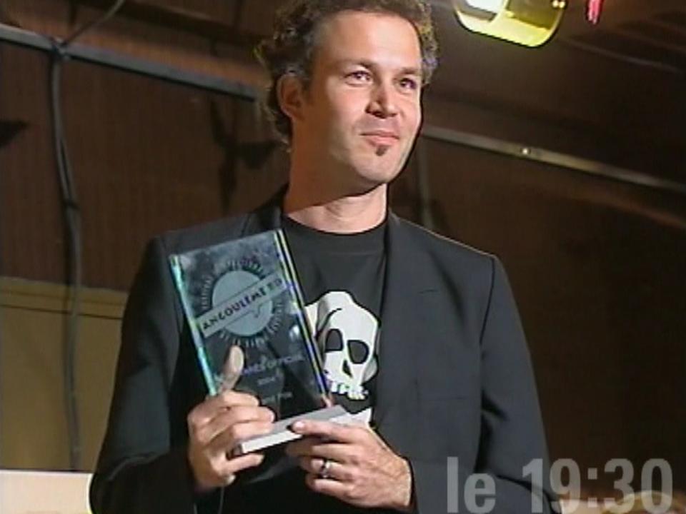 Zep, lauréat à Angoulême en 2004. [RTS]