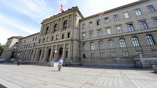 Le bâtiment principal de l'EPFZ à Zurich. [Walter Bieri  - Keystone]