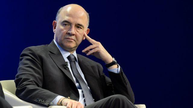 Pierre Moscovici. [Laurent Gilliéron - Keystone]