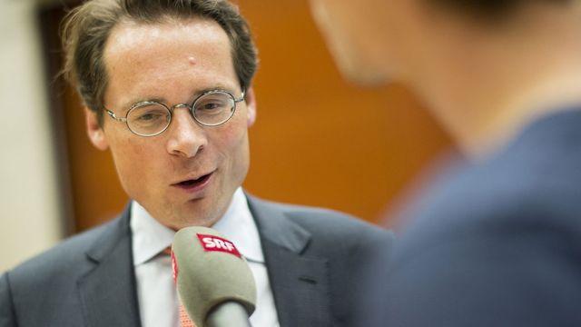 Le conseiller national Roger Köppel (UDC-ZH). [Ennio Leanza - Keystone]