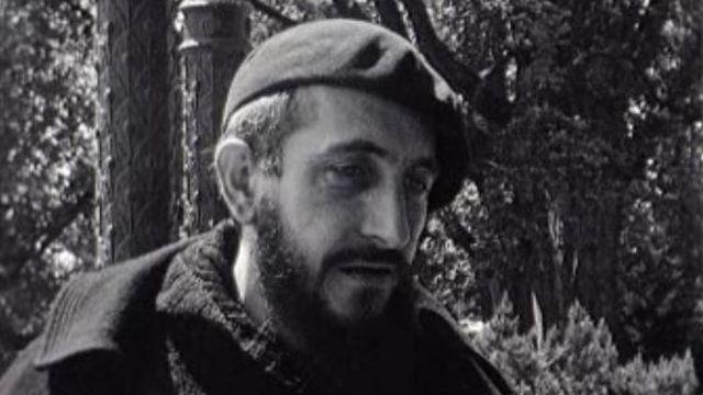 L'abbé Pierre à Genève en 1954. [RTS]