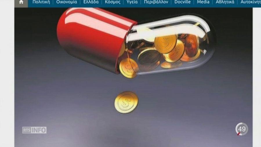 Soupçons de corruption pour la filiale grecque de Novartis
