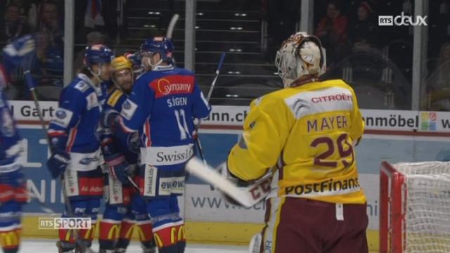 Hockey- LNA (41e j.): Genève est battu sèchement à Zurich (1-5) [RTS]