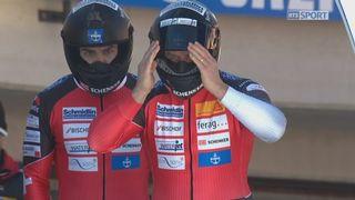 St-Moritz, 2e manche: B. Hefti (SUI) [RTS]