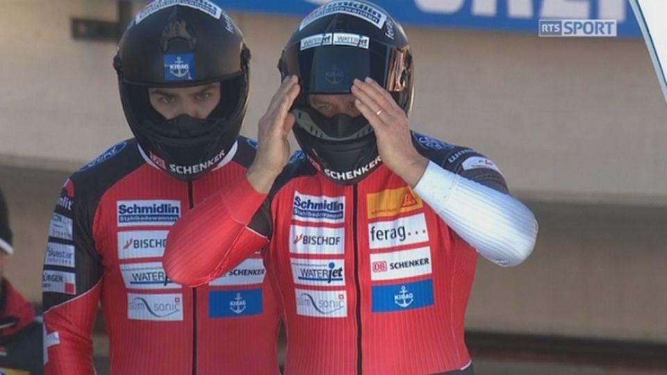 St-Moritz, 2e manche: B. Hefti (SUI) / RTS Sport Bonus / 02:08 / le 22 janvier 2017