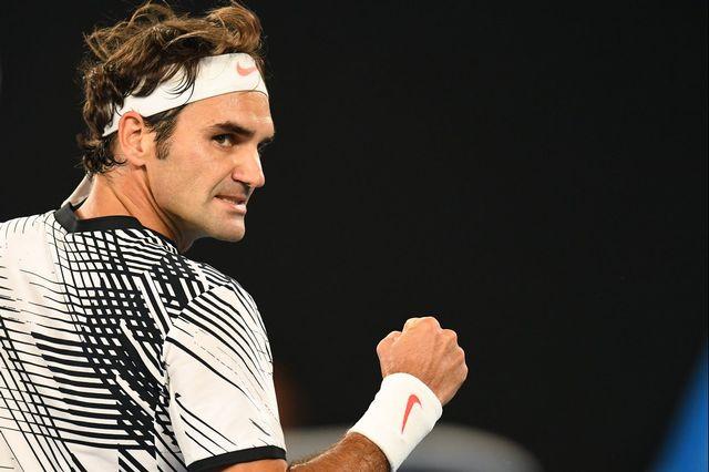 Le niveau de jeu affiché par Federer à Melbourne ne cesse de s'améliorer au fil des matches. [Dean Lewins - Keystone]