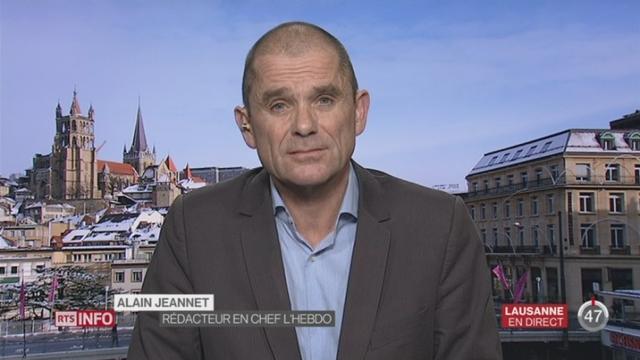 L'éditeur Ringier annonce la fin de publication du magazine l'Hebdo: la réaction d'Alain Jeannet, rédacteur en chef de l'Hebdo, à Lausanne [RTS]