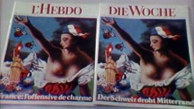 La naissance du magazine romand L'Hebdo en 1981. [RTS]