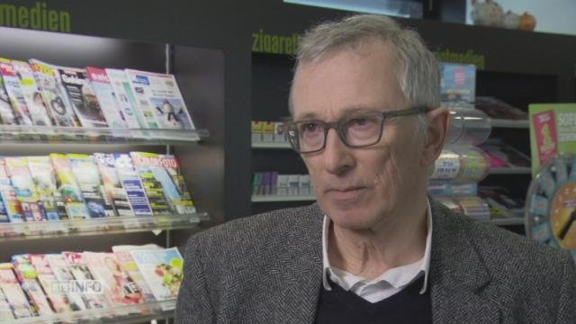 """Peter Rothenbühler: """"L'Hebdo est devenu un magazine style de vie-conseil trop proche de L'Illustré"""" [RTS]"""