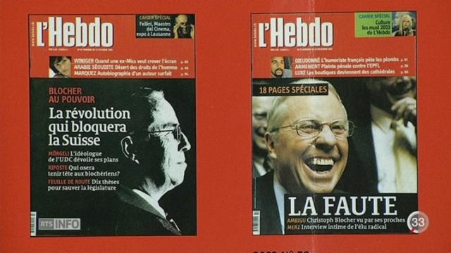 L'Hebdo va disparaître en février prochain [RTS]