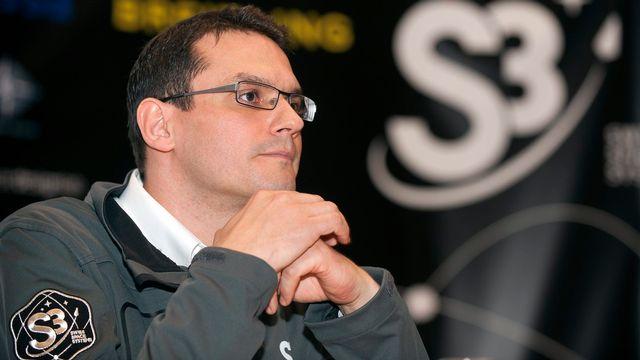 Le fondateur et CEO de la société en faillite Swiss Space Systems (S3) Pascal Jaussi, ici en 2013. [Sandro Campardo - KEYSTONE]