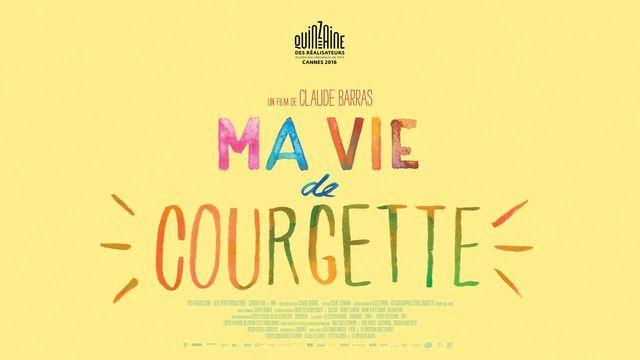 L'affiche officielle du film Ma vie de Courgette. [Cineforom]