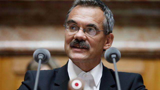 Le conseiller national Jean-François Steiert (PS-FR). [Peter Klaunzer - Keystone]