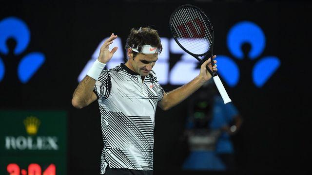 Roger Federer est toujours là! [Tracey Nearmy - EPA/Keystone]