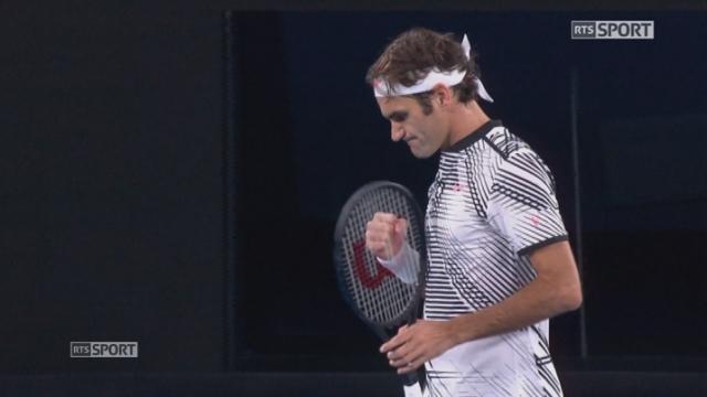 Open d'Australie, 1-2 finale: Roger Federer (SUI) - Stan Wawrinka (SUI) 7-5 6-3 1-6 4-6 6-3: Tous les moments forts du match [RTS]