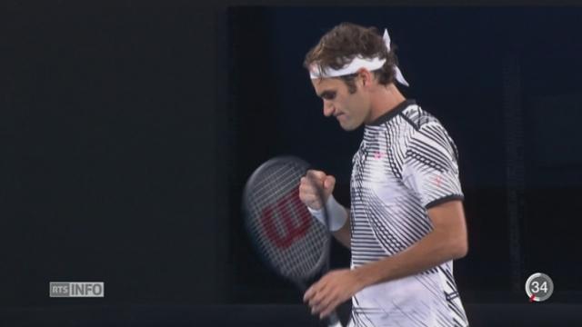 Les moments forts du match Federer-Wawrinka [RTS]