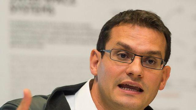 Pascal Jaussi, fondateur et CEO de la société Swiss Space Systems. [Sandro Campardo - Keystone]